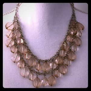 Banana Republic double layered beaded necklace